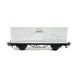 Wagon Container H0