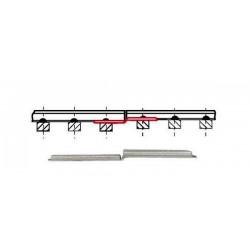 6 Eclisses de compensation / Transition rail joiners, Code 83 H0