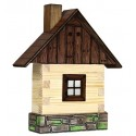 Cabine de Campagne / Log Cabin on wall