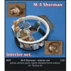 M-4 Sherman Interior set 1/35