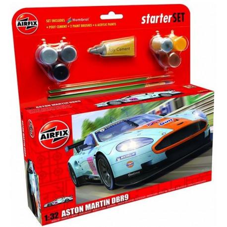 Starter Set Aston Martin DBR9 Gulf-1-32