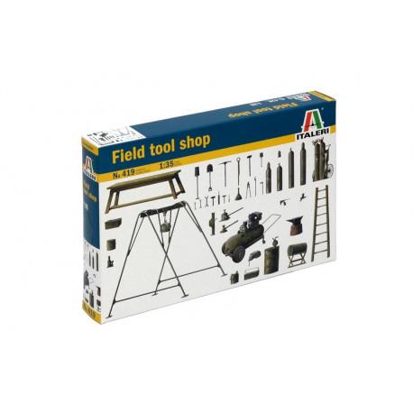 Atelier de campagne / Field tool shop 1/35