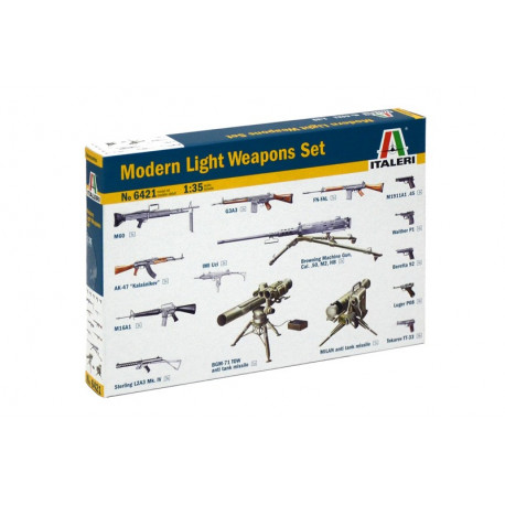 Set d'armes légères modernes / Modern Light weapon set 1/35