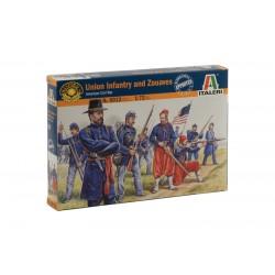 Infanterie de l'Union et Zouaves / Union Infantry and Zouaves 1/72