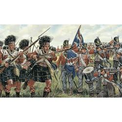Infanterie Britannique et Ecossaise / British & Scots Infantry 1/72