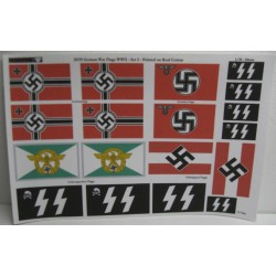 Drapeau Allemand / German War Flags, WWII 1/35