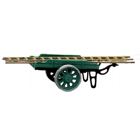 Charrette avec échelle / Cart for ladders N