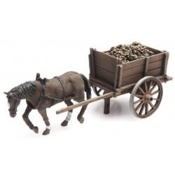 Charrette à betteraves / Sugar Beet wagon H0