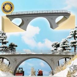 Pont à arche / Egg bridge H0