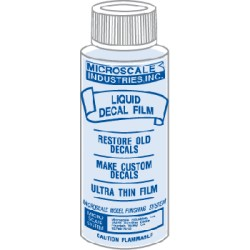 Micro liquid décal film