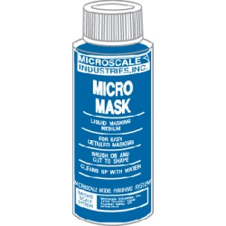 Micro Mask - 1 oz bottle - (Like masking tape in a bottle)