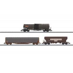 Set 3 wagons marchandises SNCF V N