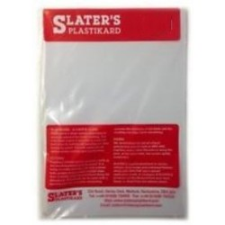 Plastikard blanc 330 * 220 * 0,25 mm