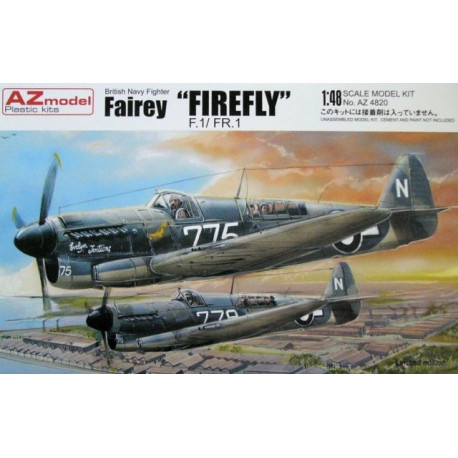 British navy Fairey Firefly f.1-fr1-1-48