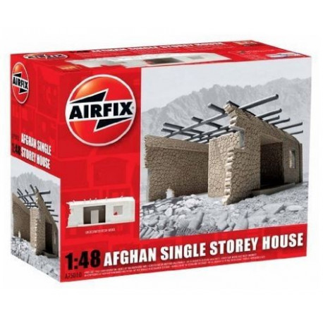 Maison Afghane de Plain Pied - Afghan Single Storey House 1/48