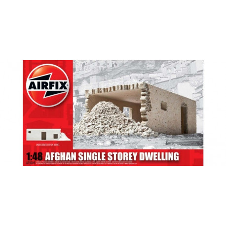 Maison Afghane de plain pied - Afghan Single Storey Dwelling 1/48