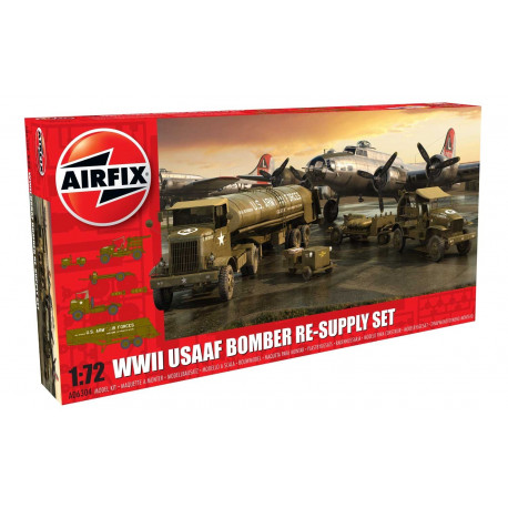 USAAF 8th Air Force Bomber Resupply Set, WWII 1/72