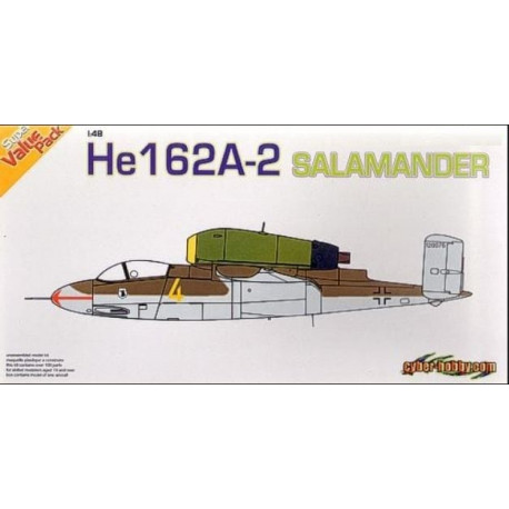 Heinkel He 162a-2 + Photo-Etched Parts 1/48