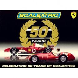 Set 50è Anniversaire : Ferrari F1 F-2004 Schumacher & Ferrari 375 f1 Tinplate 1951 Gonzalez 1/32