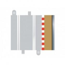 4 Bordures demi-droites / 4 Half Straight Borders,175mm 1/32