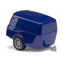 Remorque bleue / Clevertrailer blue H0