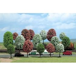 16 Arbres fleuris / Blooming trees, 4-7cm