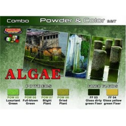 Combo powder & color algae