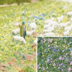 """Flocage Mousse """"Fleurs"""" / Foam Flock """"Flowers"""""""