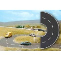 Courbe route / Road Curve H0