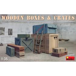 Boîtes et casiers en bois / Wooden boxes & crates 1/35