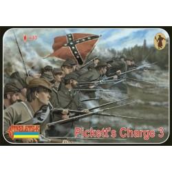 Pickett's Charge 3 American Civil War 1/72