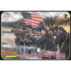Union Infantry Firing Us Civil War 1/72