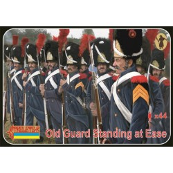 Old Guard Standing at ease Napoleonic War 1/72