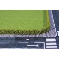 2 Haies flexibles, Vert clair / Flexible hedges, Light green