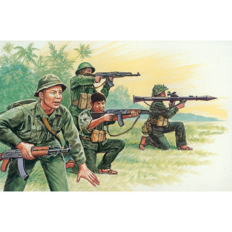 Vietnamese Army / Vietcong, 1/72