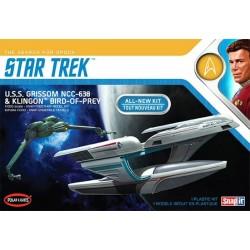 USS Grissom and Klingon Bird of Prey 1/1000