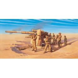 8.8cm Flak 37 AA Gun w/ Crew 1/72