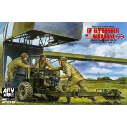 British Ordnance QF 6 Pounder Airborne, Anti-Tank Gun Mk.IV on Carriage Mk.III, 1/35