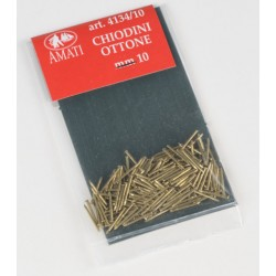100 Clous Laiton / Brass Pins, 10mm