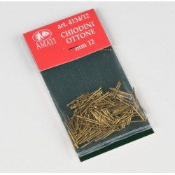 100 Clous Laiton / Brass Pins, 12mm