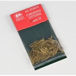 100 Clous Laiton / Brass Pins, 12mm