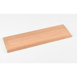 Socle en bois / Natural Wood Baseboards, 40x12x2 cm