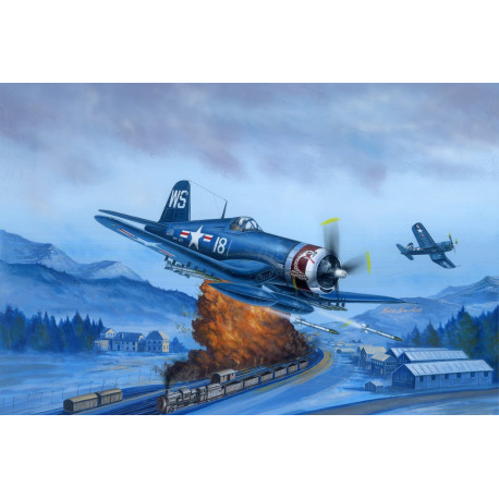 F4U-4 Corsair Late version 1/48