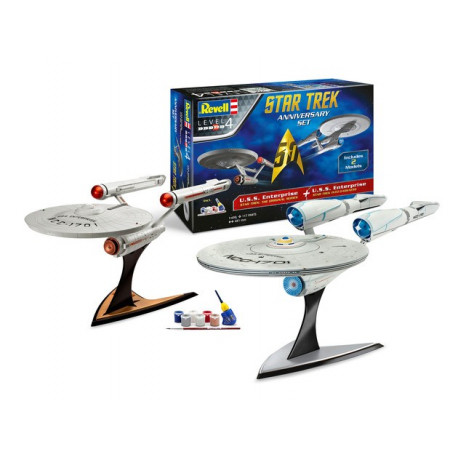 Start Trek U.S.S. Enterprise Coffret Anniversaire 1/500