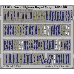 Naval Figures Royal Navy, 1/350