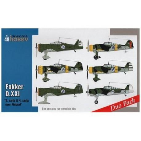 Fokker D.XXI Duo Pack 1/48