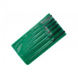 Set d'alésoirs de coupe / Precision Cutting Broach Set, 0.4-1.4mm (6pces)