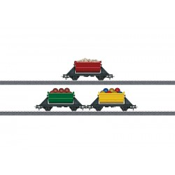 Coffret de wagons basculants / Dump cars set H0