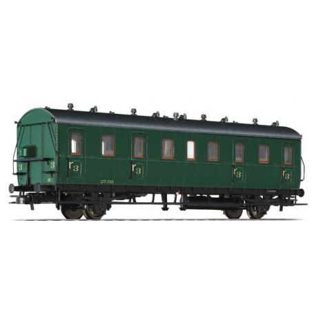 Passenger Coach 3rd Class 21/31 27.311 SNCB II H0