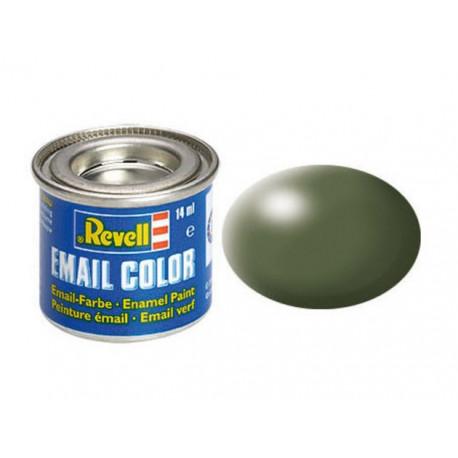 N° 361 Vert Olive Satiné / Olive Green Silk RAL 6003